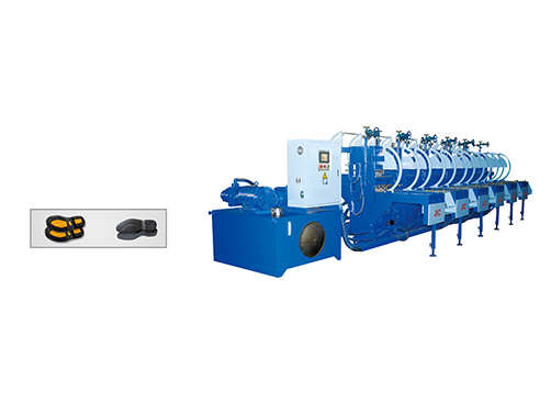 JIC1506 Two Color Rubber Sole Making Machine